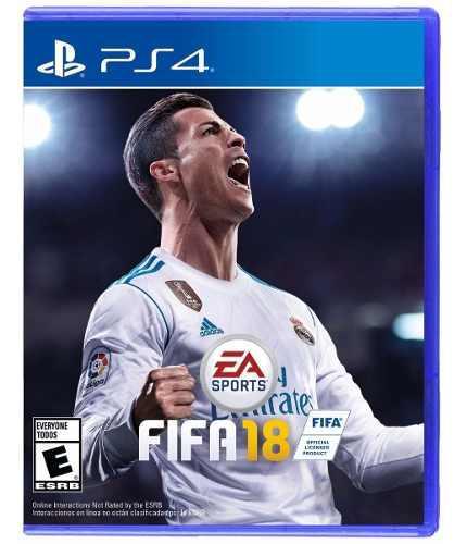 Fifa 18 ps4 juego cd blu-ray nuevo original físico sellado