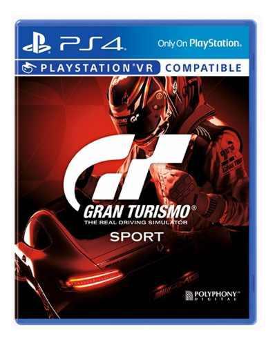 Gran turismo sport ps4 vr compatible juego cd blu-ray nuevo