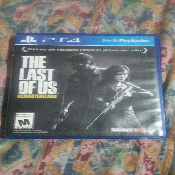 Juego play 4 the last of us fisico