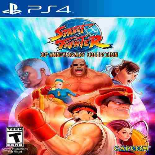 Juego playstation street fighter 30th anniversary collection
