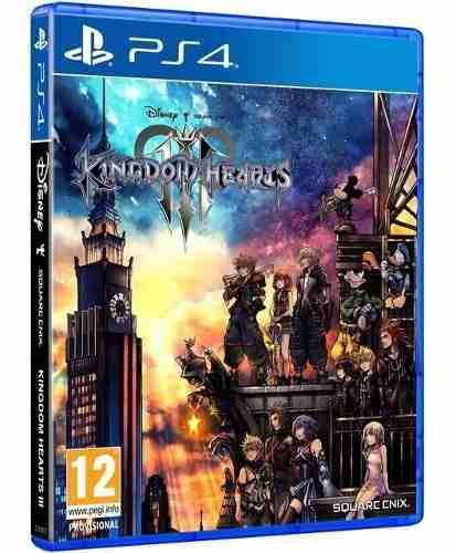 Kingdom of hearts iii ps4 juego físico original sellado