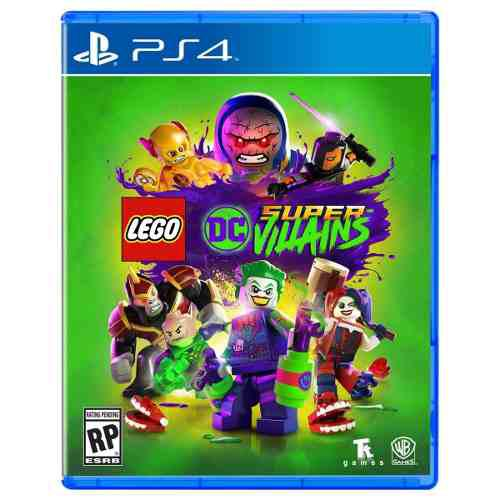 Lego dc super villains ps4 juego cd original fisico sellado