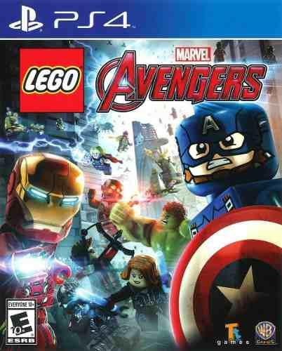 Lego marvel avengers ps4 juego cd original fisico sellado