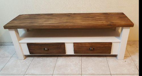 Mueble led rack lcd / mesa / plasma / 1,40 mt pintado
