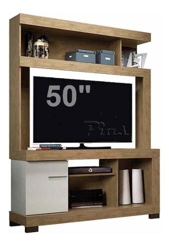 Mueble organizador modular tv lcd plasma audio led!! moderno