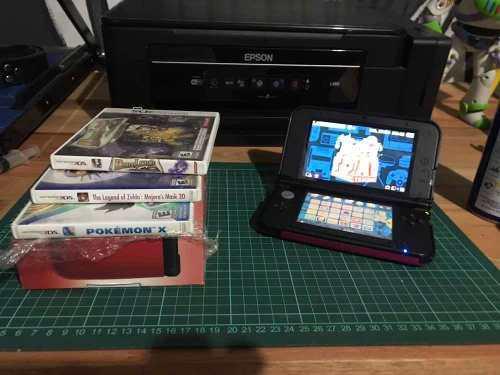 Nintendo 3ds xl completa con juegos