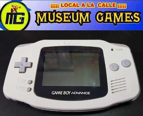 Nintendo game boy advance portatil funcionando local gtia!