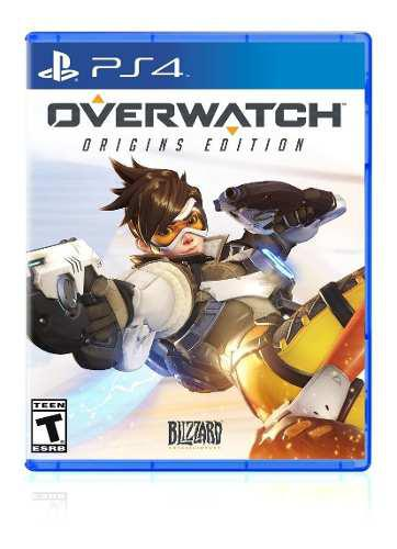Overwatch game of the year ps4 juego cd fisico sellado full