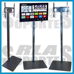 Soporte pie tv piso rack stand mesa base led lcd plasma