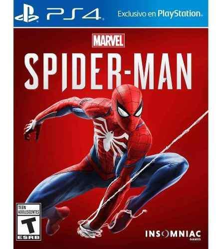 Spiderman marvel ps4 juego fisico ramos mejia