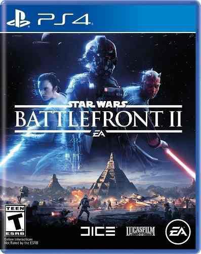 Star wars battlefront 2 ps4 juego cd blu-ray nuevo original