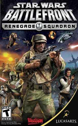 Star wars battlefront renegade squadron juego psp