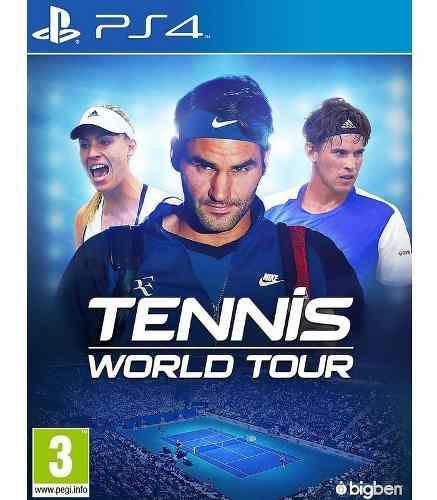 Tennis world tour ps4 !!!