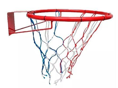Aro basket basquet con red nº5 hierro ideal niños!