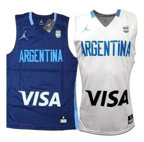 Camiseta basquet seleccion argentina original !