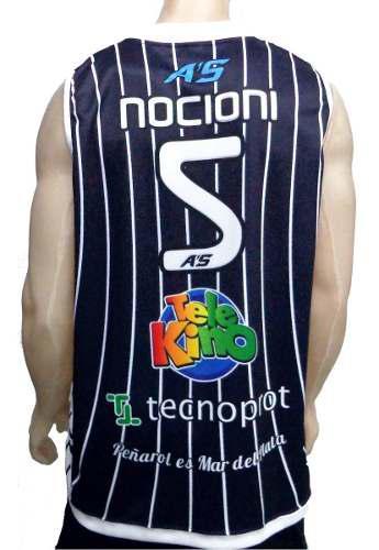 Camiseta de basquet peñarol mar del plata nocioni retro a's