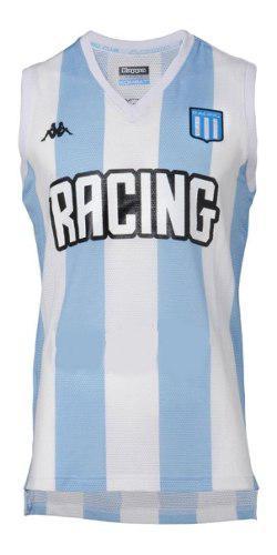 Camiseta musculosa de basquet kappa racing oficial