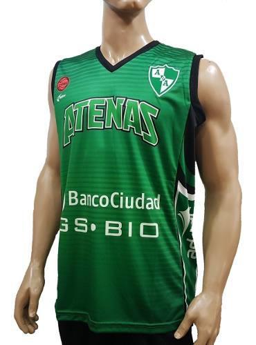 Camiseta oficial de atenas básquet, córdoba, adhoc