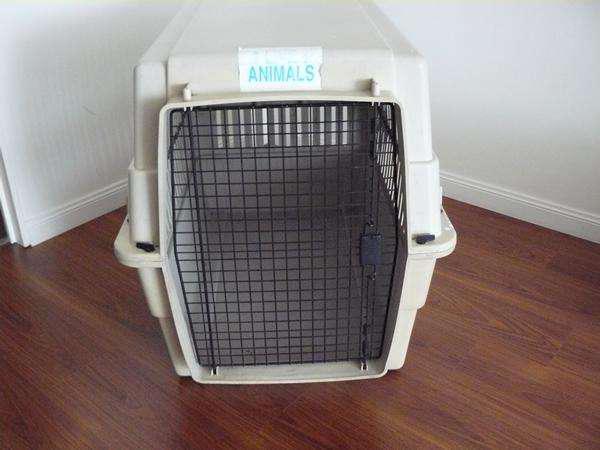 Canil jaula transportadora para mascotas vari kennel extra