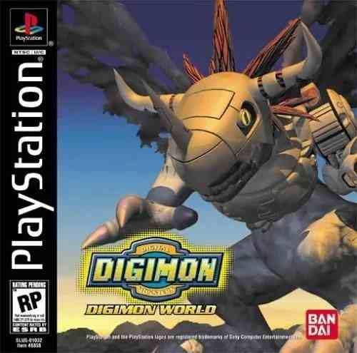 Colección digimon - 5 juegos (ps1 psone) para pc - digital