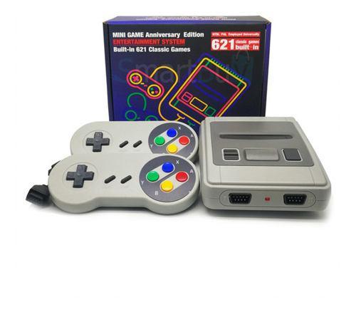 Consolas tipo nintendo 8-bit clásico 621 juegos hdmi