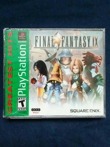 Juegos ps1 final fantasy ix 9 ***** nuevo sellado *****