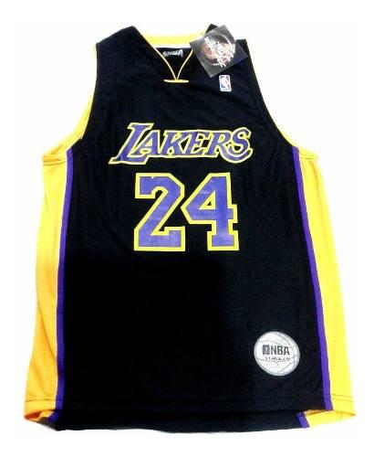 Musculosa de basquet nba lakers negro amarillo the dark king