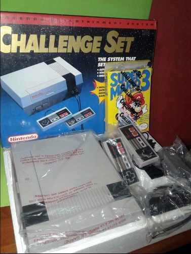 Nintendo nes original en caja (antigua)