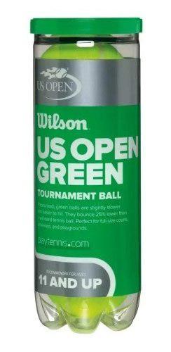 Pelotas de tenis wilson junior us open green tournament