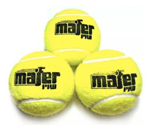 Pelotas mafer padel y tennis por 30 unidades