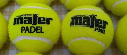 Pelotas mafer pro tenis padel..liquido