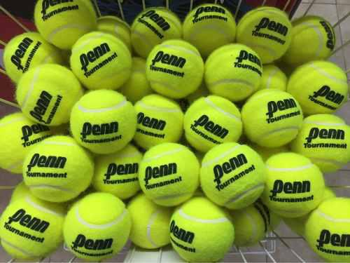 Pelotas tenis penn tournament sello negro bolsa 30 unidades