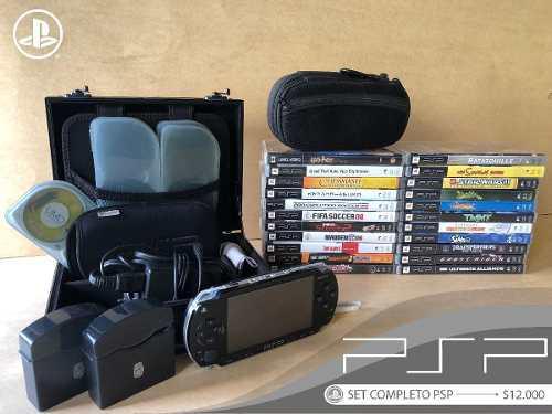 Set playstation portable - psp