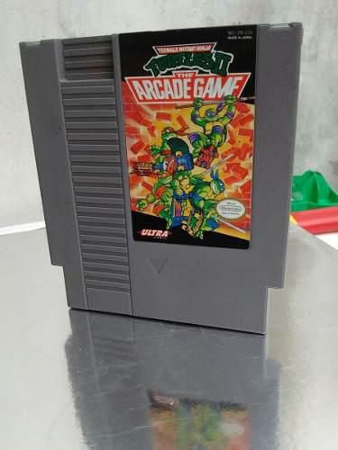 Turtles ninjas arcade game nes nintendo funda especial.