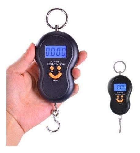 Balanza electrónica digital portatil de colgar valijas