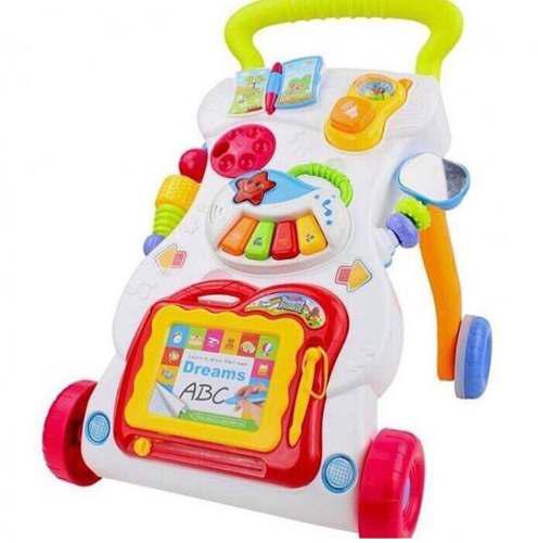 Caminador andador bebé música sonidos