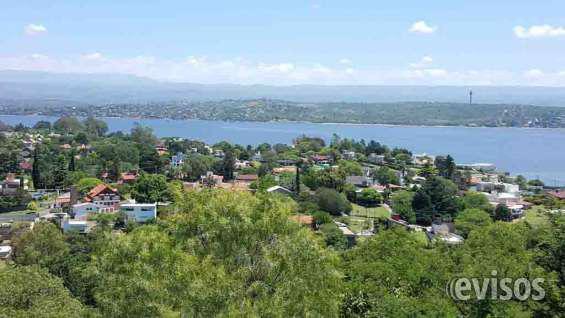 Excelente terreno con gran vista panorámica en villa carlos