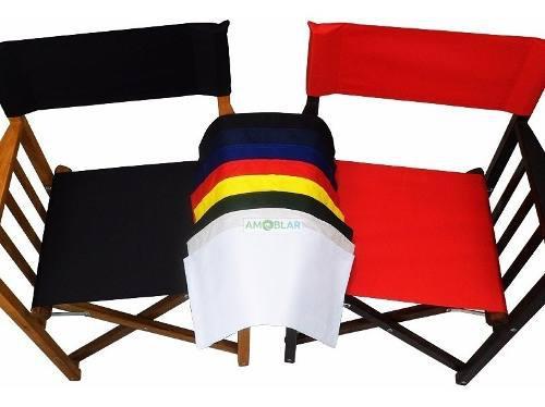 Funda de lona asiento y respaldo reposición sillón