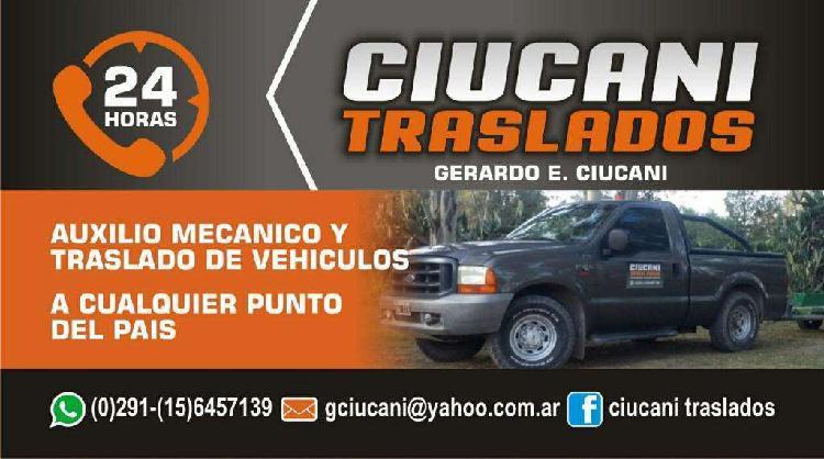 Grua-auxilio Mecánico Las 24 Hs.