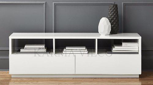 Mueble tv lcd mesa plasma modular laqueado rack cajones 1.6