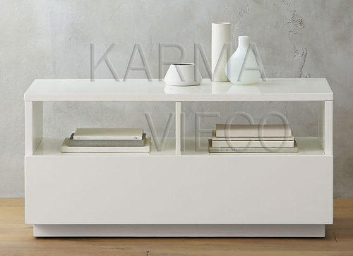 Mueble tv lcd mesa plasma modular laqueado rack cajones 1 m