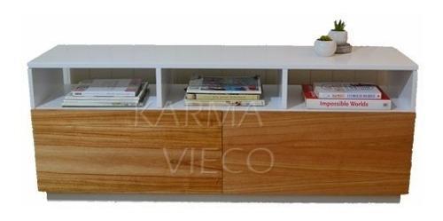 Mueble tv lcd mesa plasma paraiso laqueado rack vajillero