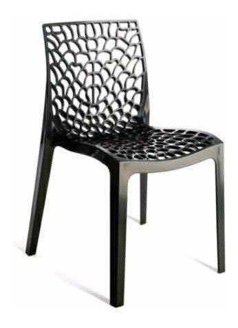 Oferta!! silla mascardi modelo perla caja x 6 unidades negra