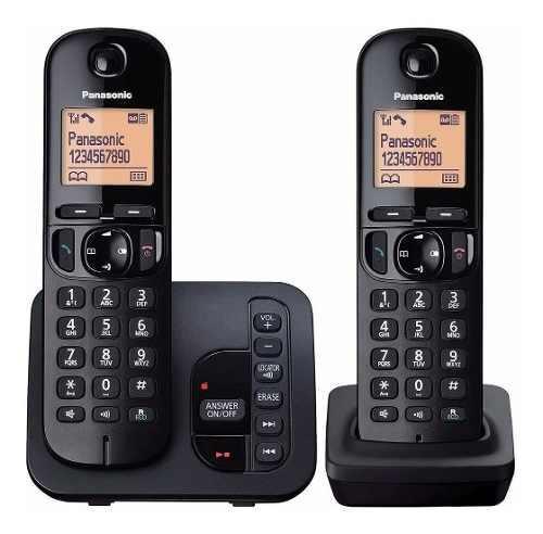 Panasonic kx-tgc222 inalambrico doble base con contestador