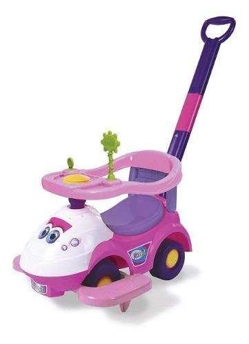 Pata pata andador bebe maxi star rosa con barral rondi