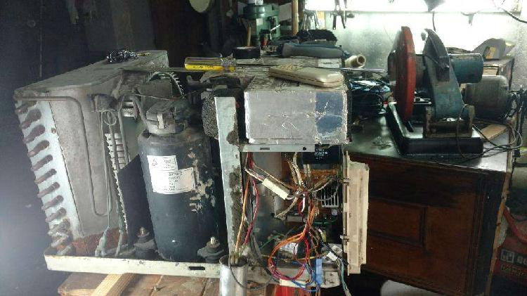 Refrigeración, reparación heladeras