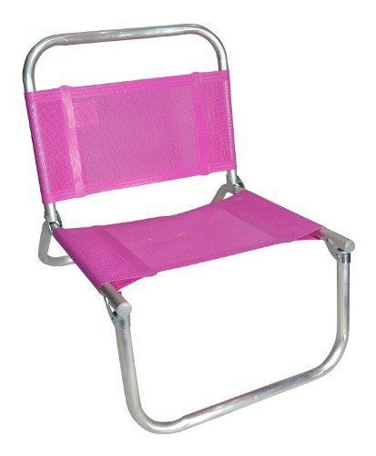 Reposera silla baja descansar bahia caño aluminio 7/8