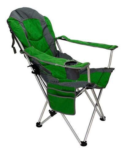 Sillon reposera plegable reclinable playa camping + bolso