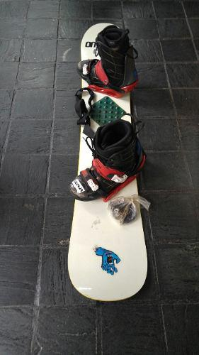 Tabla de snowboard completa 159 tabla botas fijaciones snow