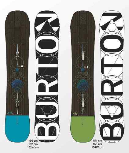 Tabla de snowboard okm burton custom flying v 1,54